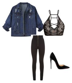 """""""Keep it sexy!"""" by alma-cizmic ❤ liked on Polyvore featuring Balmain and Christian Louboutin"""