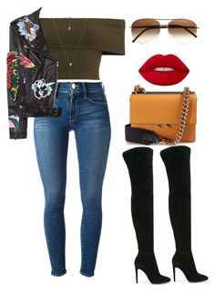 """Untitled #561"" by amoney-1 ❤ liked on Polyvore featuring Frame, Gianvito Rossi, Marni, Cutler and Gross and Carbon & Hyde"