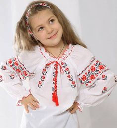 Ukraine, from Iryna Crochet Christmas Trees, Christmas Tree Pattern, Ukrainian Dress, Bless The Child, Arte Popular, Floral Tops, Embroidery, Costume, Outfits