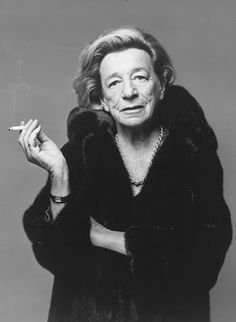 Lillian Hellman :: photo used in What Becomes a Legend Most campaign.