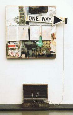 Black Market , 1961 Robert Rauschenberg l Arts l Pop art l Combine painting Robert Rauschenberg, Jasper Johns, Josef Albers, Willem De Kooning, Pierre Auguste Renoir, Edouard Manet, Mark Rothko, Richard Diebenkorn, Camille Pissarro