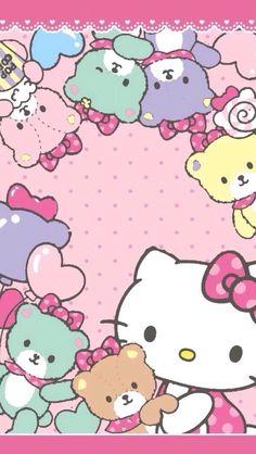 Hello Kitty with Teddy Bears