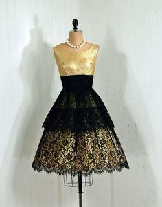 1950's dress. Stunning!