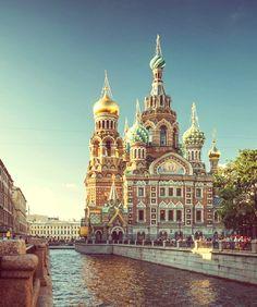 Church of the Savior on Blood. Saint Petersburg. Russia.                                      Храм Спаса-на-Крови. Санкт-Петербург. Россия