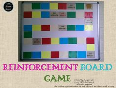 This game board is perfect for a bulletin board or wall. My students will roll a die when it's time to go back to their rooms, then move their paper game piece that number of spaces. When they get to the treasure chest they earn a trip to the treasure box!Just print out the squares on different color cardstock or paper, laminate, cut out and put on the board/wall and you're ready to go!~~~~~~~~~~~~~~~~~~~~~~~~~~~~~~~~~~~~~~~~~~~~~~~~~~~~~~~~~~~~More ideas for your wall:Speech & Language P...
