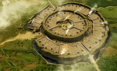 Civilization Of Bronze Age Russia Arkaim: This Mysterious Prehistoric City in Russia May Be Older Than Stonehenge Ancient City, Ancient Aliens, Ancient History, Stonehenge, Mysterious Universe, Site Archéologique, Archaeological Site, Ancient Architecture, City Maps