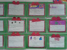Kindergarten Christmas Hallway Display Christmas Gift Craftivity - Lots of Options - K-3rd $