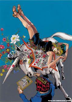 GUCCI×ジョジョ 荒木飛呂彦の原画展がイタリア初上陸 - フィレンツェにて披露の写真6