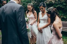 Wedding day prayer #christianwedding #bride #bridesmaids #pastor