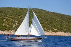 at #Sailing, gulet #boat Cosh 2 cabins ideal for honeymooners