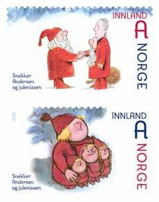 Norway Christmas stamps