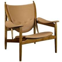 Warrior Lounge Chair 296-TAN by LexMod