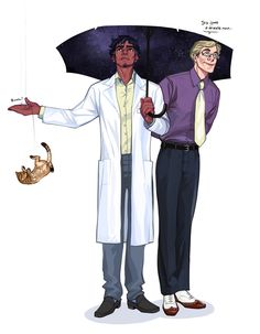 It seems as if in Night Vale, it actually rains cats and dogs! Or maybe kittens, if it's a drizzle…