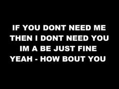 G Swiss - How Bout You (with lyrics on screen)