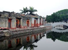 Nanshe, Dongguan - an ancient walled city in a lovely location.