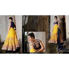 Aesthetic Partywear Lehenga Choli -4