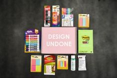 Design Undone Teacher Box