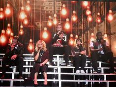 Five gorgeous people on a gorgeous stage singing gorgeous songs and just basically being gorgeously gorgeous.