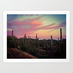 Buy Arizona Desert by Melanie McKay as a high quality Art Print. Worldwide shipping available at Society6.com. Just one of millions of products available.