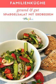 Saisonal kochen ist einfacher als man denkt. Wir liefern euch Ideen, wie ihr jeden Monat mit Gemüse und Früchten aus der Schweiz viele neue Gerichte zaubern könnt. Wie zum Beispiel einen feinen Spargelsalat mit Erdbeeren im Mai. #Spargeln #Erdbeeren #Mai #saisonal #Salat #LaCucinaAngelone #DieAngelones Monat, Green Beans, Vegetables, Food, Red Chili, Healthy Salads, Fruits And Vegetables, Vegetable Recipes, Eten