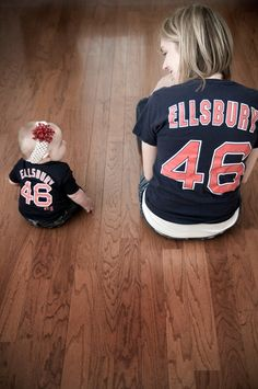 My baby and I will definitely have matching shirts with daddy's name on it. :)