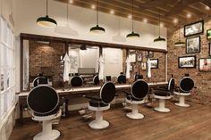 Contemporary | UGO Barbershop | Jakarta | Iconic Design