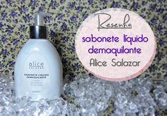 Testando sabonete liquido demaquilante da Alice Salazar :)  link: http://www.blogflordemulher.com.br/2015/07/resenha-em-video-sabonete-liquido.html