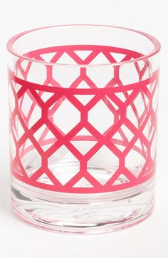 Jonathan Adler glasses. so easy to create a similar look on a vase with the silhouette machine.