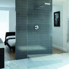 Playtime walk-through shower 1200 and integrated shower head - bathstore (wintersale off) Walk In Shower Tray, Walk In Shower Designs, Walk In Shower Enclosures, Frameless Shower Enclosures, Bad Inspiration, Bathroom Inspiration, Walk Through Shower, Glass Shower Panels, Shower Doors