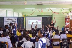 EDUCATION PROGRAMS IN THE EASTERN CARIBBEAN MAKING A DIFFERENCE Save Our Oceans, Make A Difference, Different, Programming, Caribbean, Education, People, How To Make, Learning
