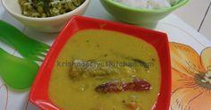 KrishnaPriya's Kitchen:  Green Chilli Sambar / Pachai milagai sambar