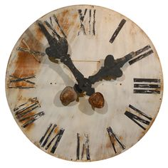 french tower clock face