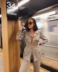 Emma Rose, Corporate Style, Devil Wears Prada, Stay Classy, Military Jacket, Celebs, Street Style, Stylish, Lady