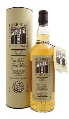 Kilkerran Work In Progress 3 Single Campbeltown Malt Whisky  - a whisky worth while