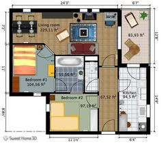 credit: freshome.com[http://freshome.com/wp-content/uploads/2010/08/SweetHome3DExample3-Plan.jpg]