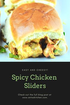 Chicken sliders are a delicious meal that is perfect for dinner, potlucks, and parties. It is easy and simple to make at home in just a few minutes. Chicken Masala Recipe Indian, Indian Chicken Recipes, Easy Indian Recipes, Scrambled Eggs With Cheese, Breakfast Slider, Perfect Breakfast, Buffalo Chicken Sliders, Best Party Appetizers