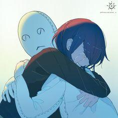 Sad Anime, Kawaii Anime, Anime Art, Dark Art Illustrations, Art And Illustration, Sun Projects, Sad Drawings, Dark Anime Girl, Deep Art