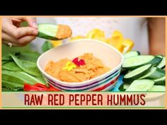 ... Raw dips & spreads on Pinterest | Hummus, Cashew cheese and Tahini