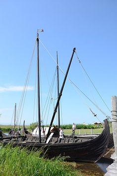 Viking boats in Denmark @Tricia White