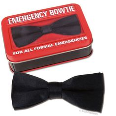 Emergency Bowtie, put it in your glove box.