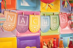 These quick and easy decorations are perfect for your next fiesta! www.ortega.com