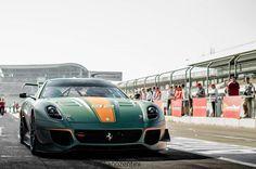 Ferrari 599XX Evolution at Hockenheim by Giuliano Zentini