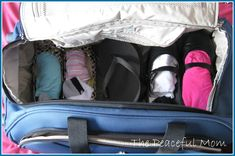 Pack 5 days of clothes in one carry-on bag!