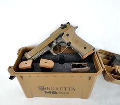 "Beretta M9A3 FS 9mm 4.9"" [New in Box] $999.99 | MMP GunsFind our speedloader now! http://www.amazon.com/shops/raeind"