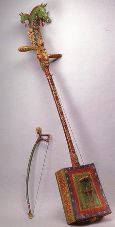Morin Khuur - Mongolian instrument