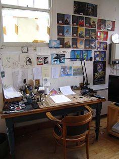 Tony DiTerlizzi's Studio