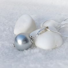 Collier Perle Silber 925 Pearl Earrings, Pearls, Jewelry, Necklaces, Pearl Pendant, Rhinestones, Gemstone Beads, Silver Ash, Neck Chain