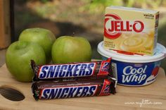 Snickers Salad With Apples Pudding Recipe Easy no bake dessert