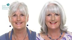 Makeup for Older Women: Perfect Makeup with Grey or White Hair