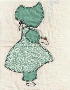 Sunbonnet Sue, for you (that means it's a pattern)